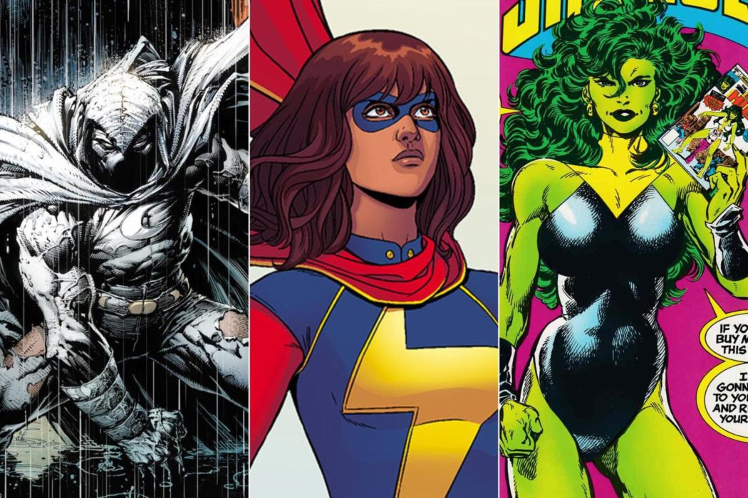 Serie tv su Moon Knight, She-Hulk e Ms Marvel