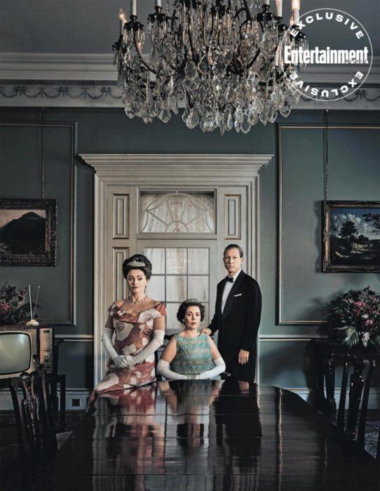 The Crown 3: Foto, ritratti e cover da Entertainment Weekly