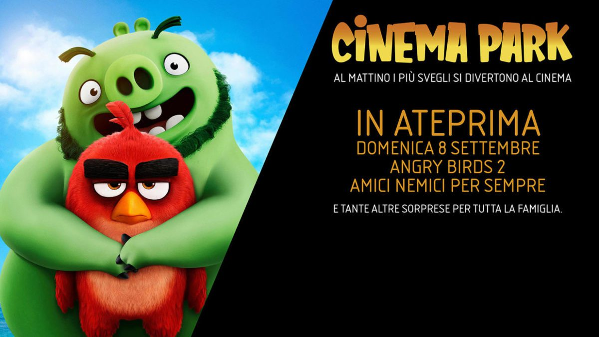 Angry Birds 2 The Space Cinema