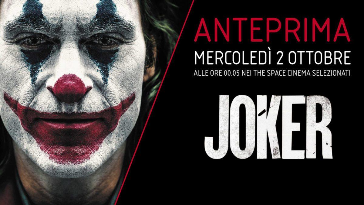 Joker anteprima The Space
