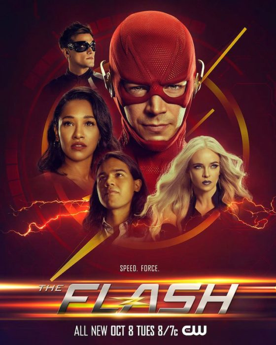 The Flash sesta stagione poster