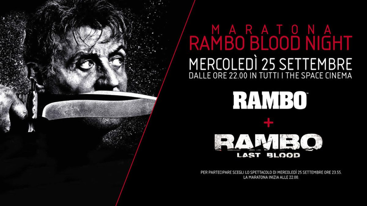 Maratona Rambo Blood Night