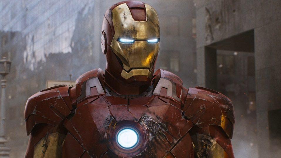 Iron Man in Black Widow