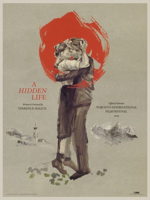hidden life film poster