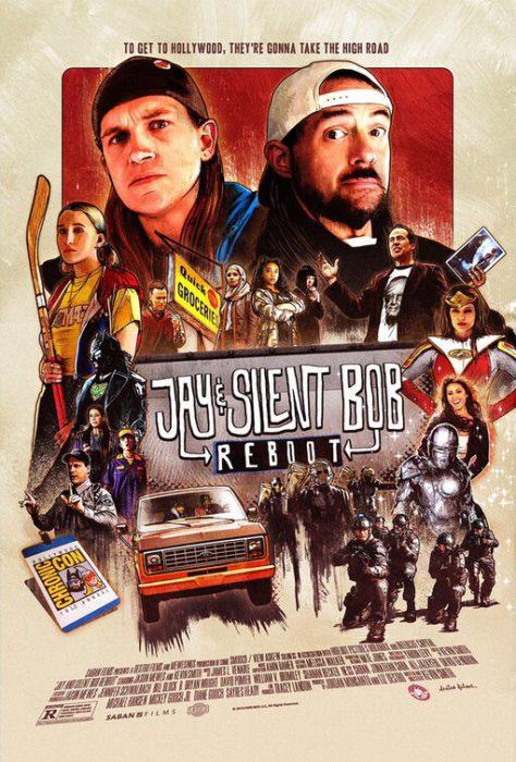 jay and silent bob reboot poster