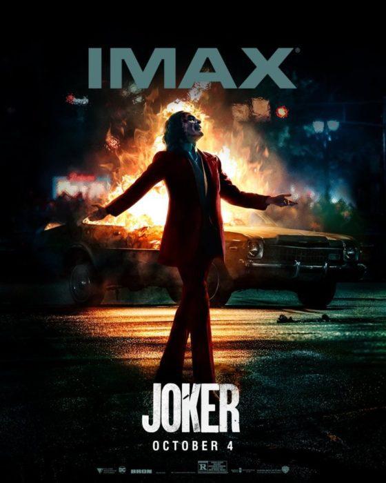 Joker film poster imax