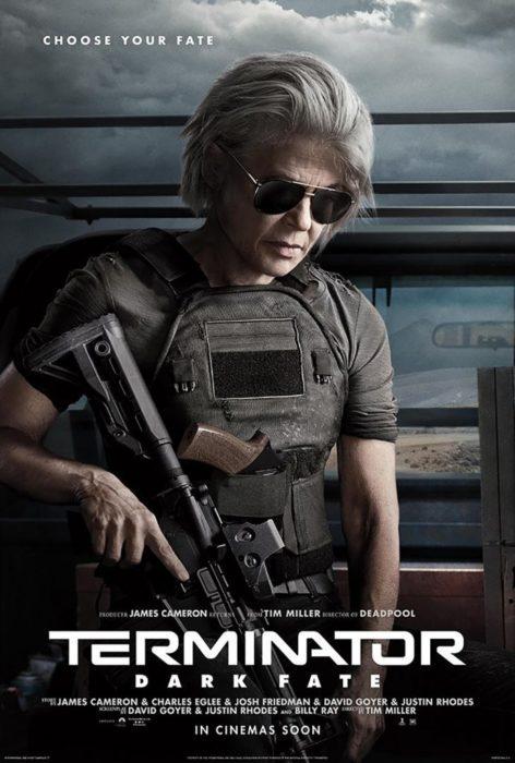 Armati fino ai denti nei poster di Terminator: Destino Oscuro