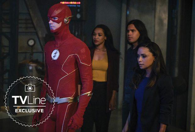 The Flash sesta stagione costume