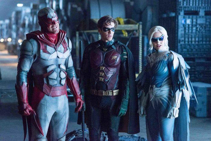 Uno sguardo al costume di Aqualad nelle nuove foto di Titans 2