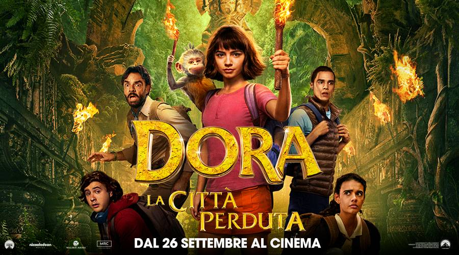 Dora e la città perduta film