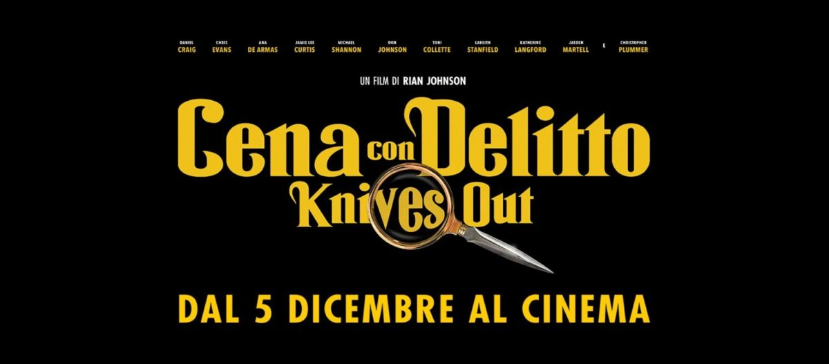 cena con delitto knives out