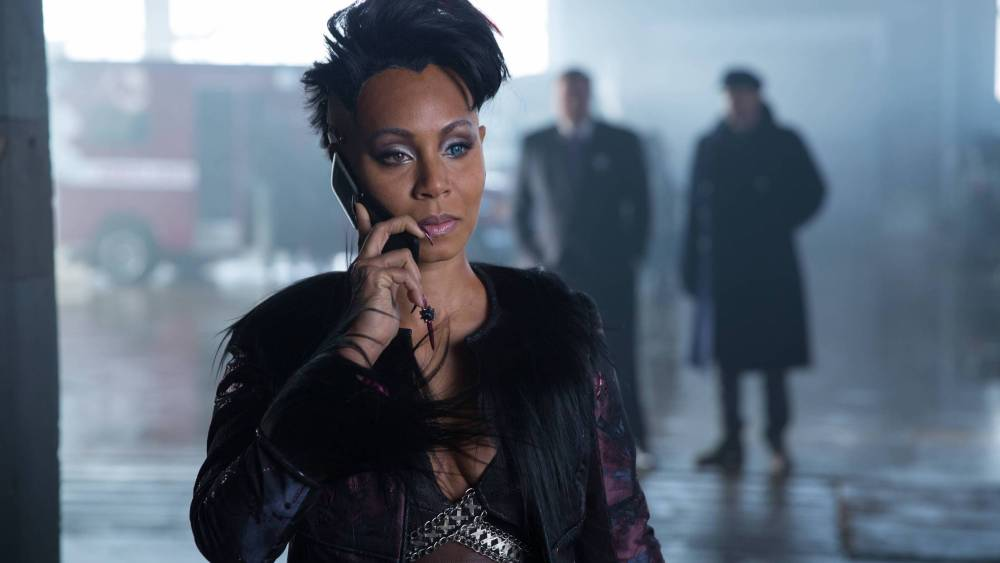Jada Pinkett Smith in Matrix