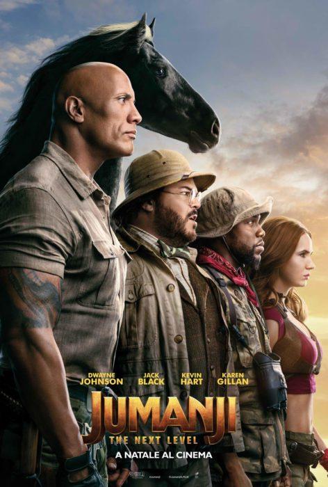 jumanji the next level poster