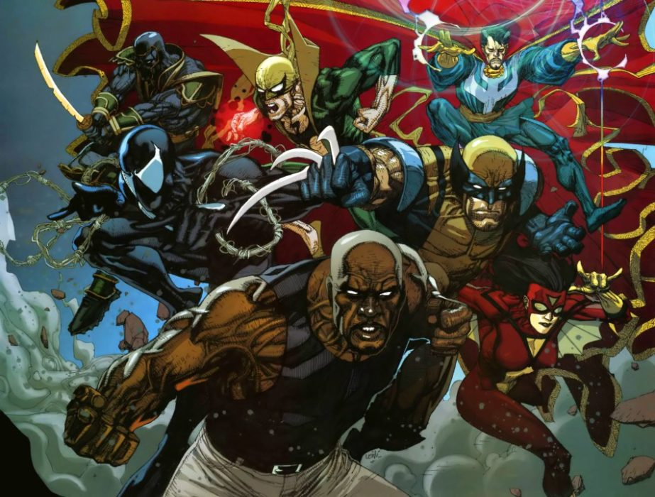 luke cage in new avengers
