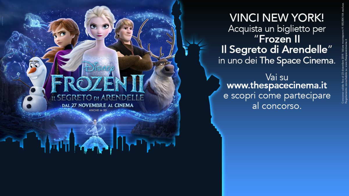 frozen 2 the space concorso