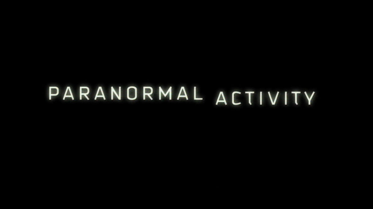 paranormal activity saga