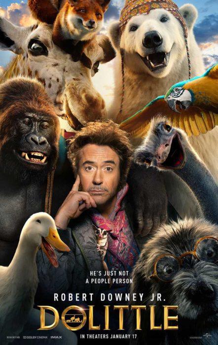 Dolittle: In compagnia dei suoi animali nei nuovi characters poster