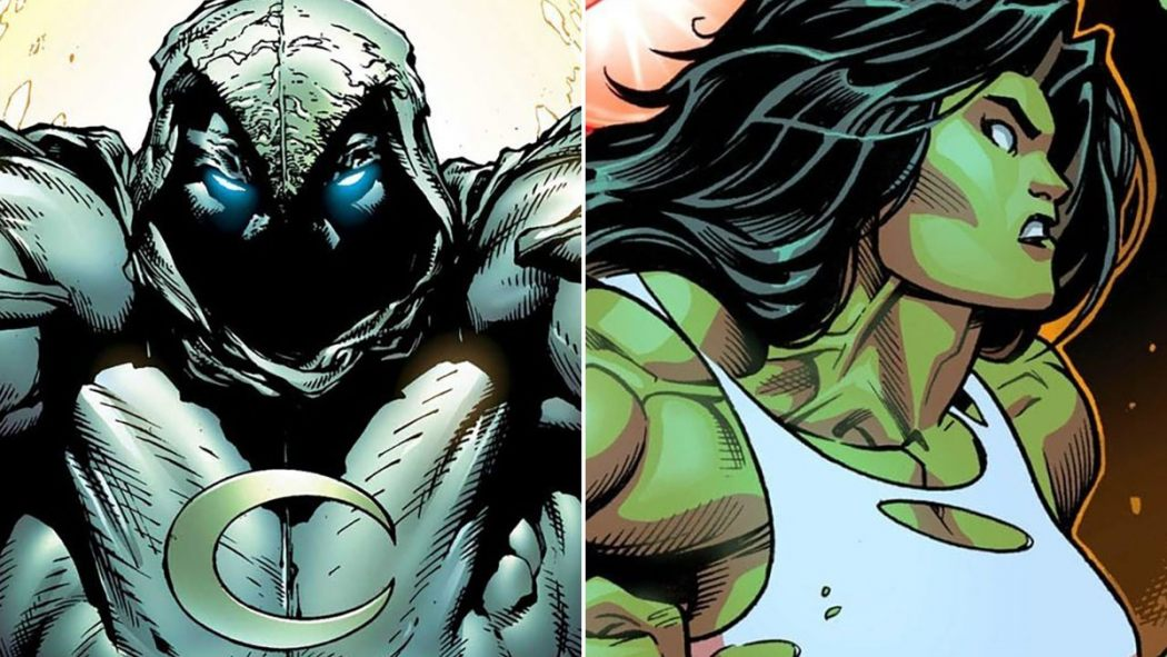Moon Knight She-Hulk Serie tv
