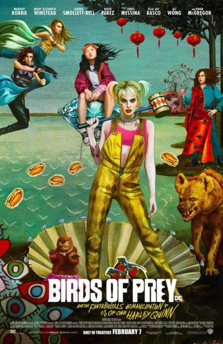 birds of prey poster botticelli