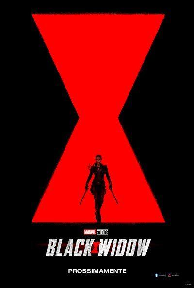 Black Widow Film Poster Ita