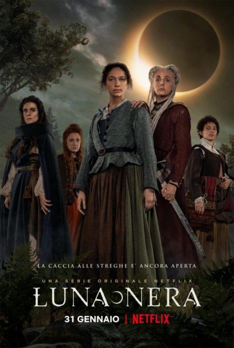 Luna Nera Netflix Poster