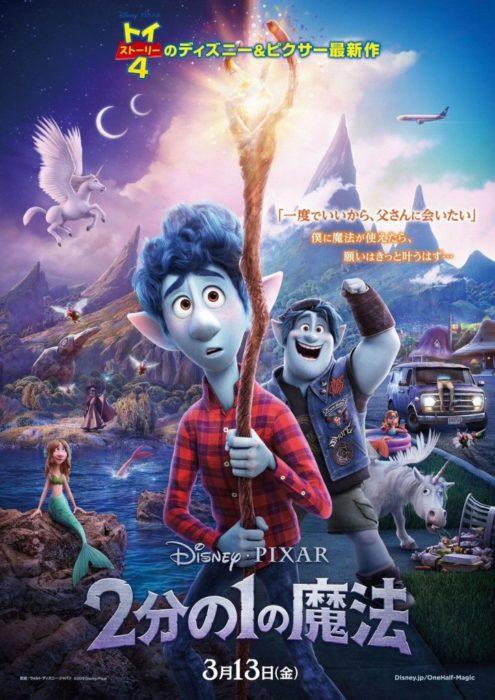 Onward Cartoon Pixar Poster