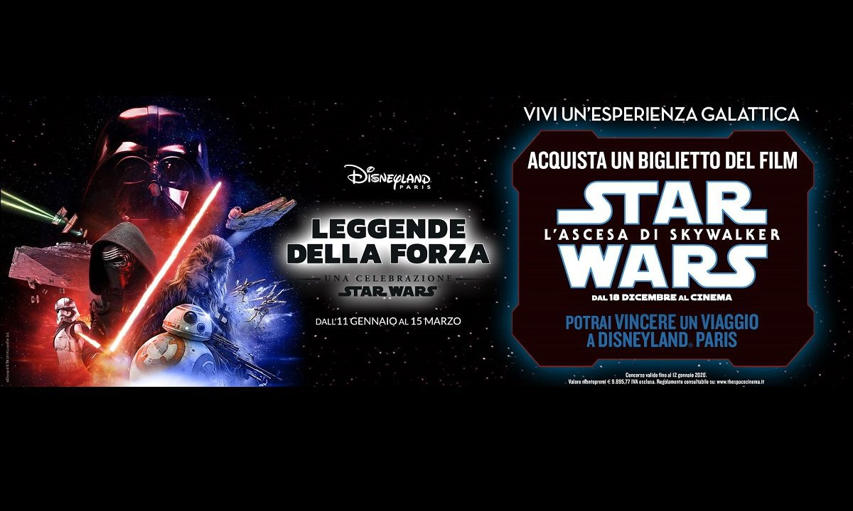Star Wars L'ascesa di Skywalker The Space Cinema