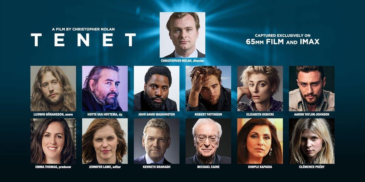 Tenet Film Nolan Cast
