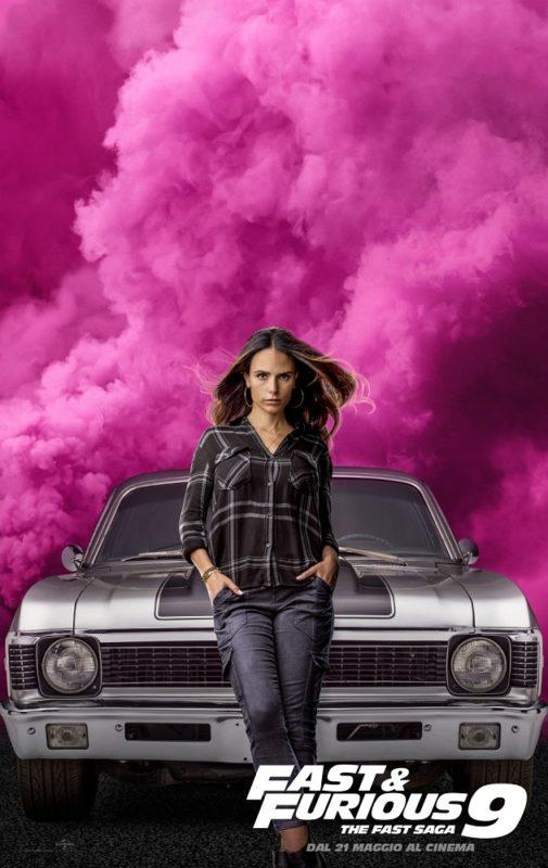 I characters poster italiani di Fast & Furious 9 - The Fast Saga
