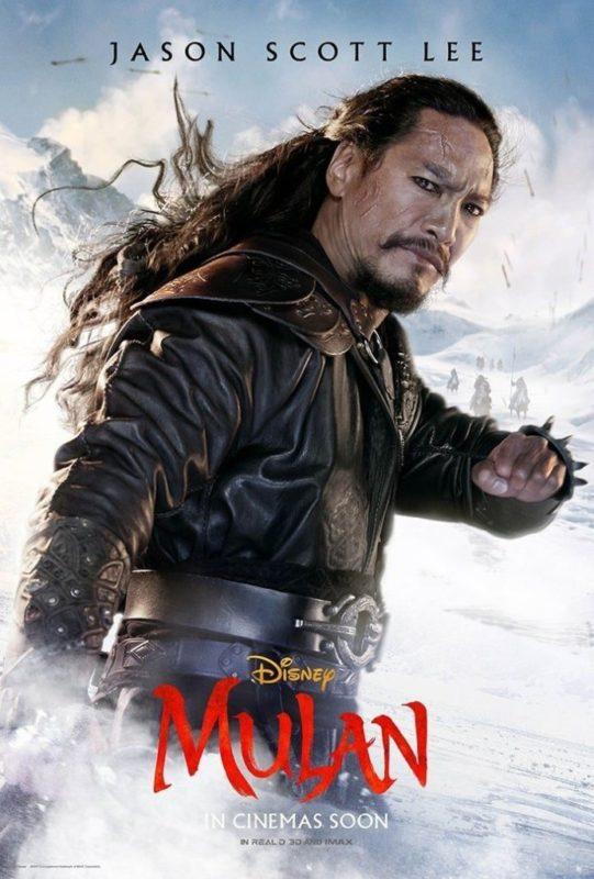 Liu Yifei, Jet Li e gli altri protagonisti di Mulan nei nuovi poster