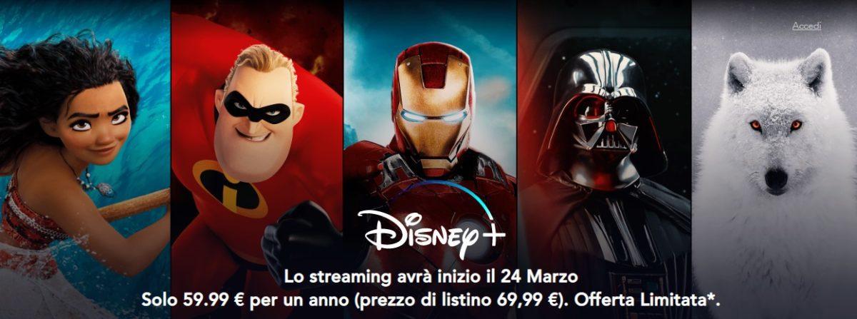 Disney+ Offerta