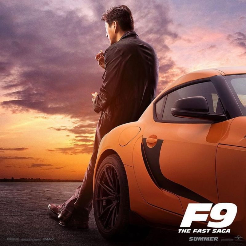 Fast and Furious 9 Poster Han