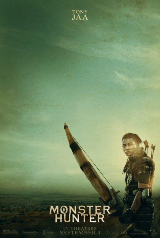 I primi poster di Monster Hunter, il moviegame con Milla Jovovich