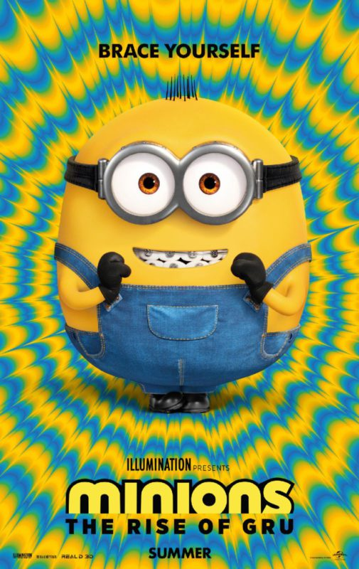 Minions - The Rise of Gru Poster