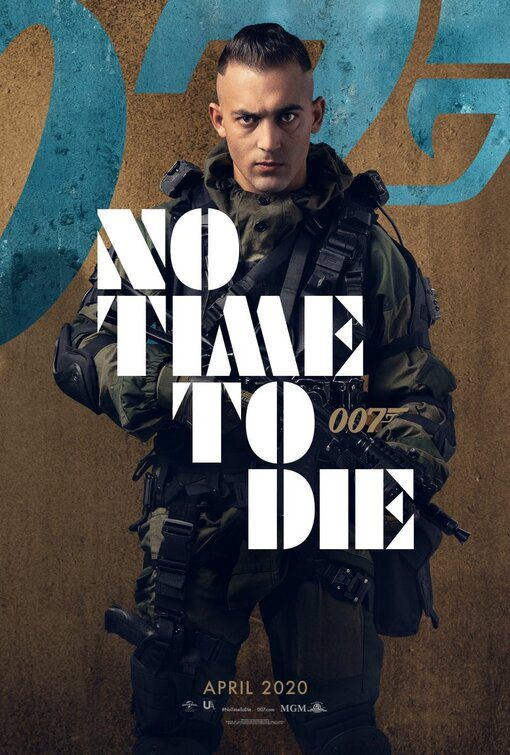Una valanga di characters poster da No Time to Die