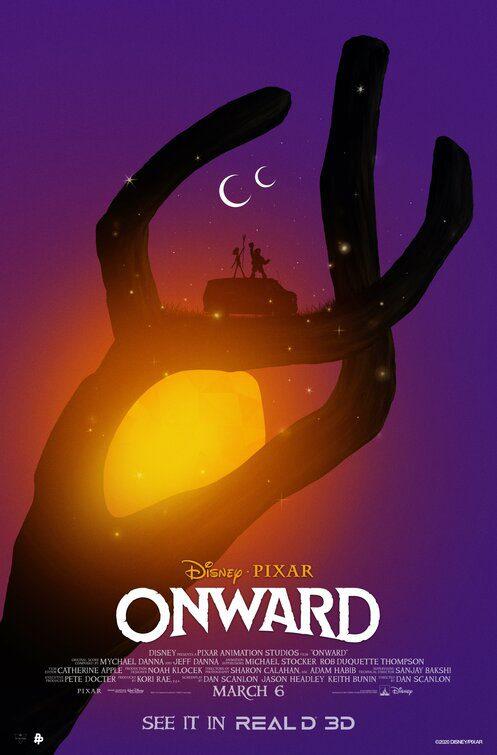 Onward - Oltre la Magia ... Poster Real D 3D