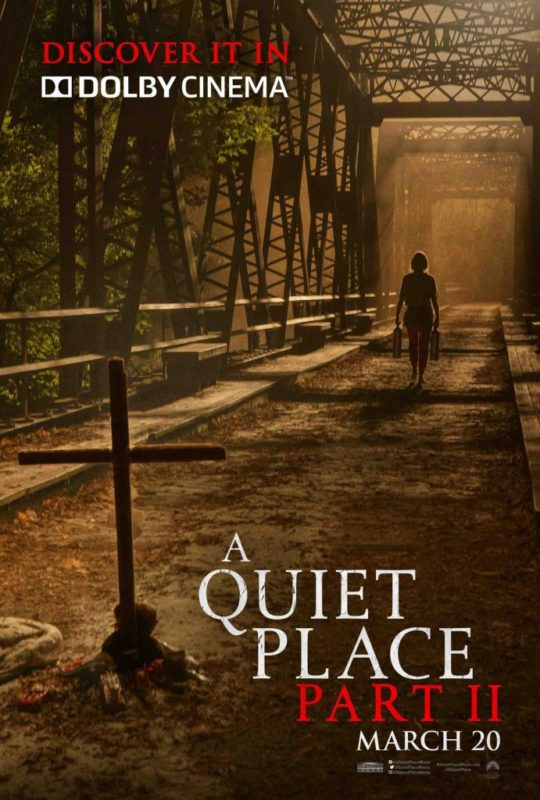 A quiet place 2 poster dolby cinema