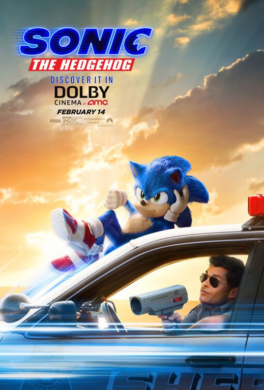 Sonic Film Poster Dolby