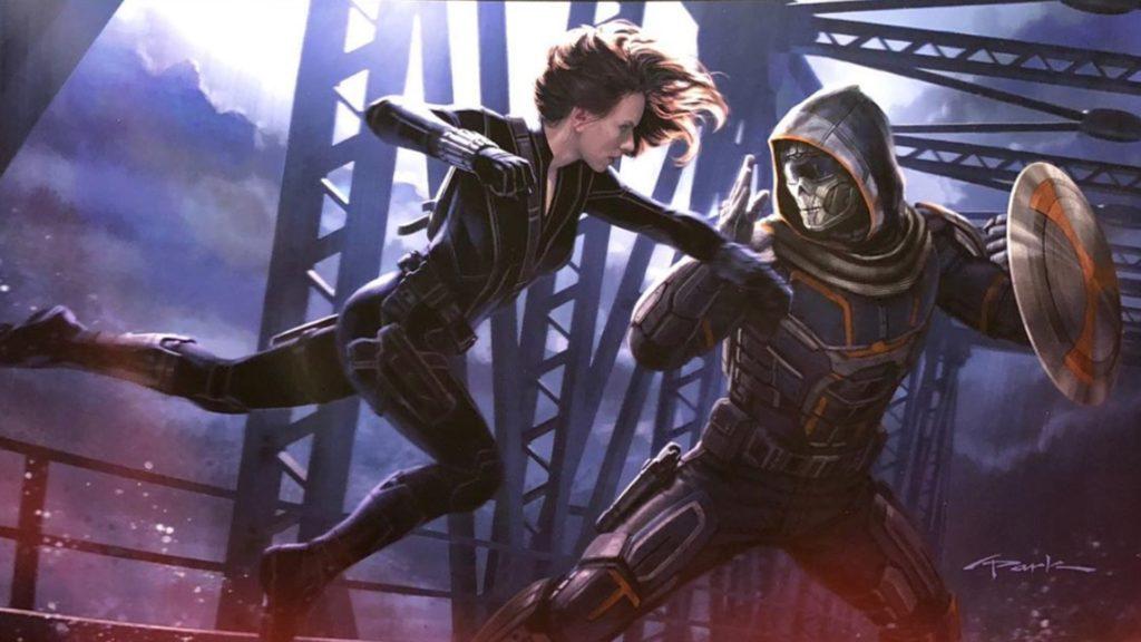 Black Widow contro Taskmaster