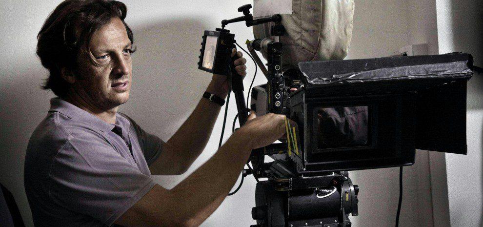 Gabriele Muccino sul Set