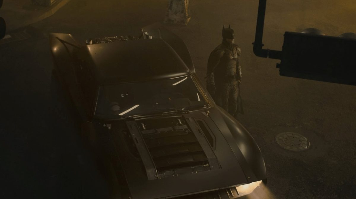 The Batman Film - Batmobile