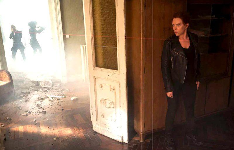 Da Total Film nuove foto di Black Widow