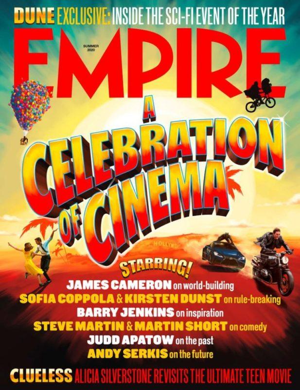 Empire Magazine celebra il Cinema con due copertine straordinarie