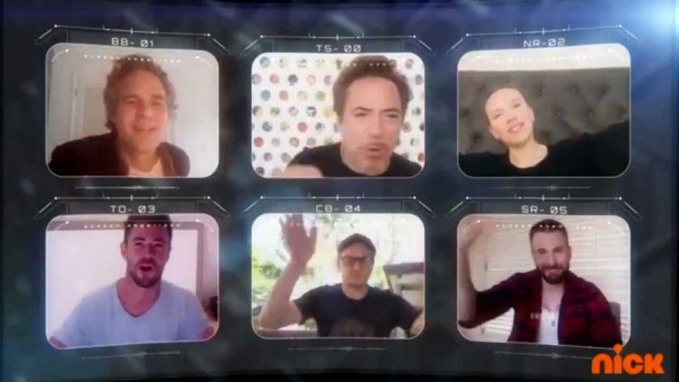 Kids Choice Awards - Avengers