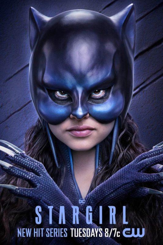I volti della nuova Justice Society of America nei poster di Stargirl