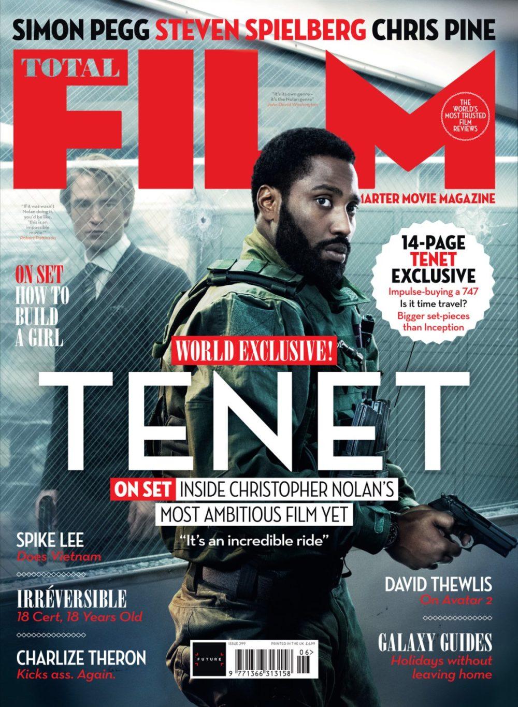 Il kolossal Tenet sulla copertina di Total Film