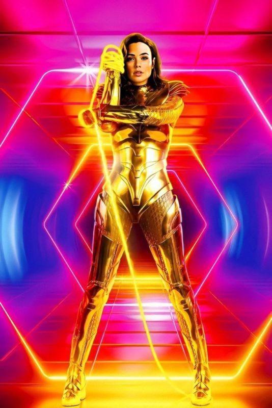Wonder Woman 1984 - Foto Armatura Dorata