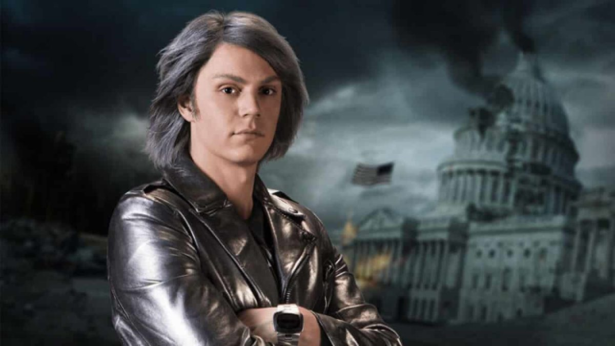 Evan Peters Quicksilver