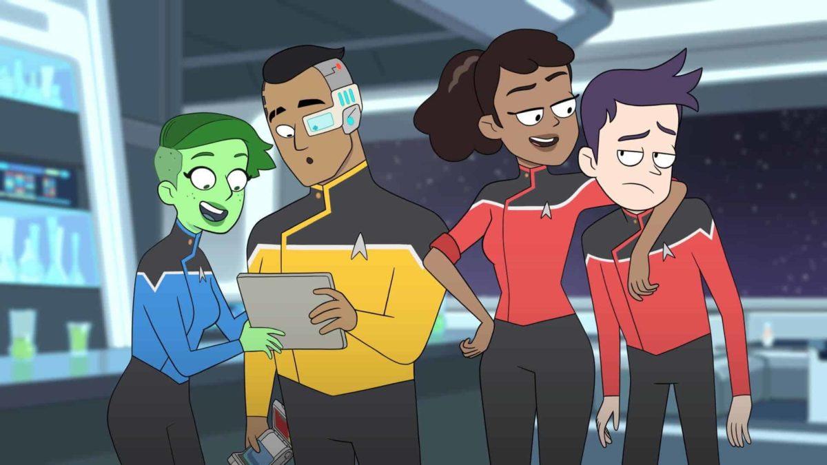Il trailer della serie animata Star Trek: Lower Decks
