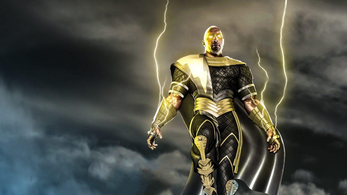 DC FanDome: Logo e teaser da Black Adam
